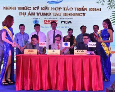 Lễ ký kết hợp tác triển khai dự án Regency Vũng Tàu